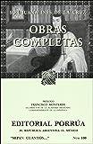 Obras Completas de Sor Juana Ines de la Cruz (Spanish Edition)