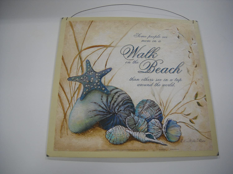 "8 x 10 Photo Beautiful Fine Art Print /""A Walk On The Beach/"""