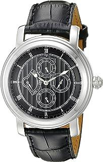 lucien piccard men s mechanical watch black dial analogue lucien piccard men s watch lp 40009 01