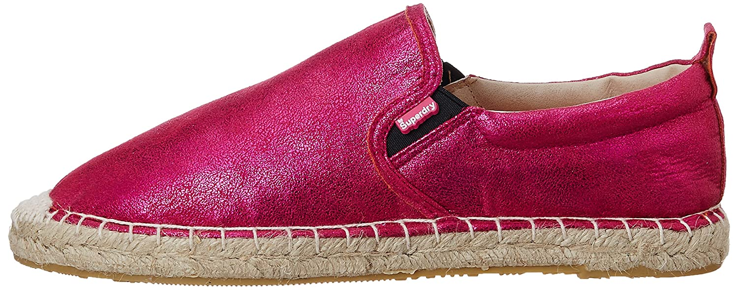 Superdry Women's Espadrilles, Plimsolls, Canvas, Pumps, Slippers, Flat  Summer, Holiday Shoes, Ashley Pink Crackle Design (UK 5): Amazon.co.uk:  Shoes & Bags
