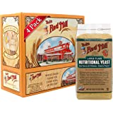 Bob's Red Mill Gluten Free Large Flake Nutritional Yeast, 8 Ounce (Pack of 4)
