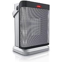 Brandson - Heizlüfter mit zwei Leistungsstufen und stufenlose Temperaturregelung | energiesparend | 1800 W | Oszillation | Überhitzungsschutz, Umkippschutz | Heizung Heater | GS-zertifiziert