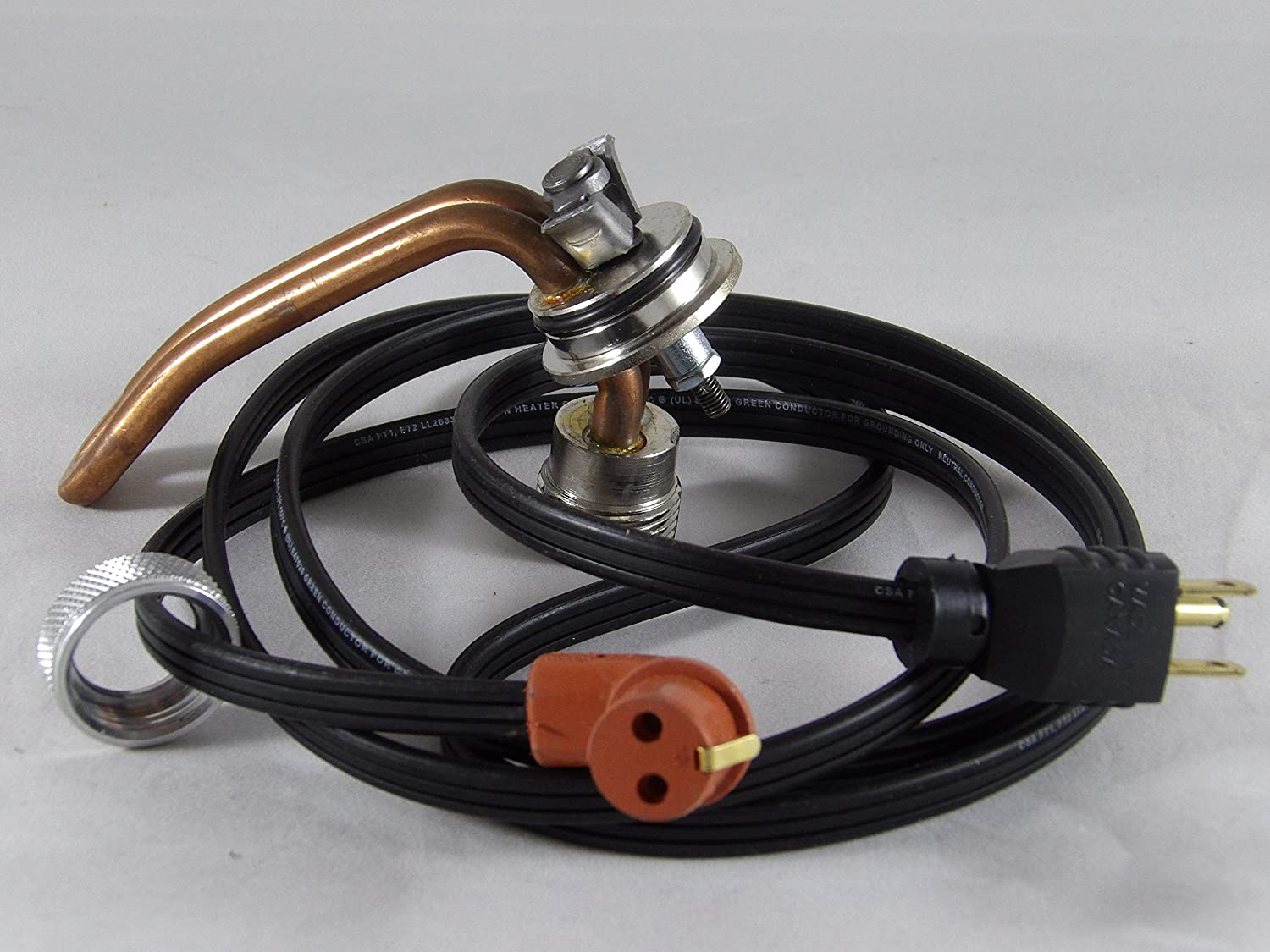 Engine Heater Kit compatible with INTERNATIONAL//NAVISTAR D312 DT414 D414 Engines manufactured prior to 1994