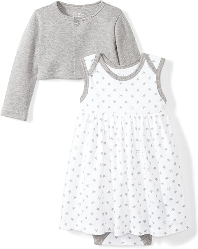 Moon and Back Baby M/ädchen Baby Toddler Dress Infant-and-Toddler-Dresses
