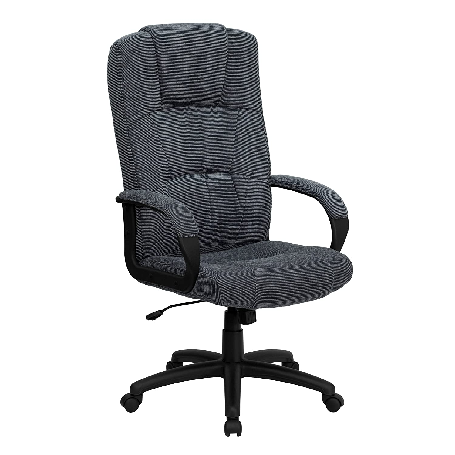 Amazon Flash Furniture High Back Gray Fabric Executive Swivel