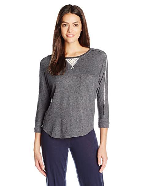 778d84e149d9 Karen Neuburger Women s 3 4 Sleeve Top Pajama Shirt PJ