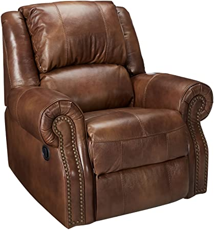 Merveilleux Ashley Furniture Signature Design   Walworth Recliner Chair   Manual  Reclining   Auburn Brown