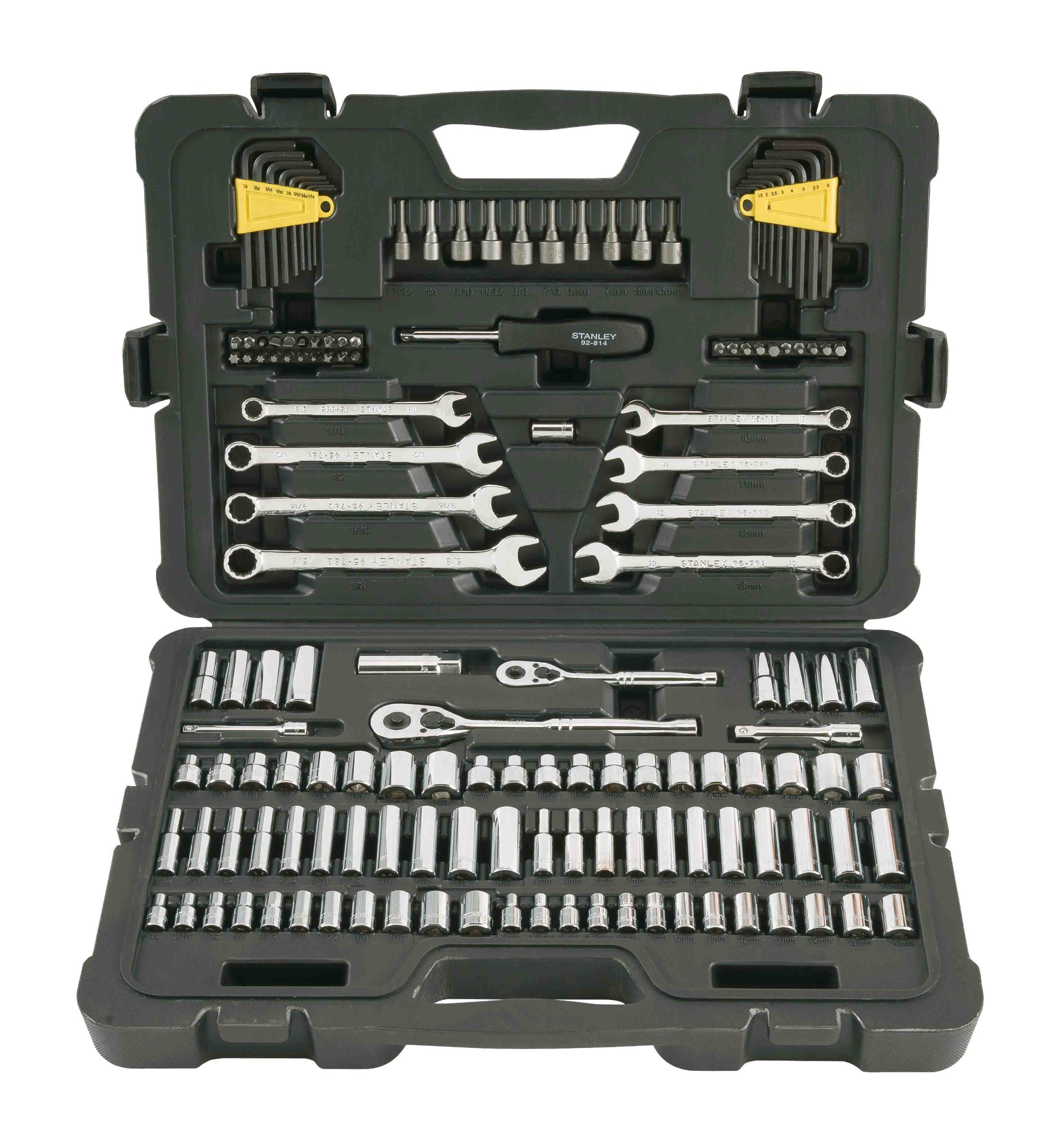 Stanley STMT71653 145-Piece Mechanics Tool Set by Stanley (Image #2)