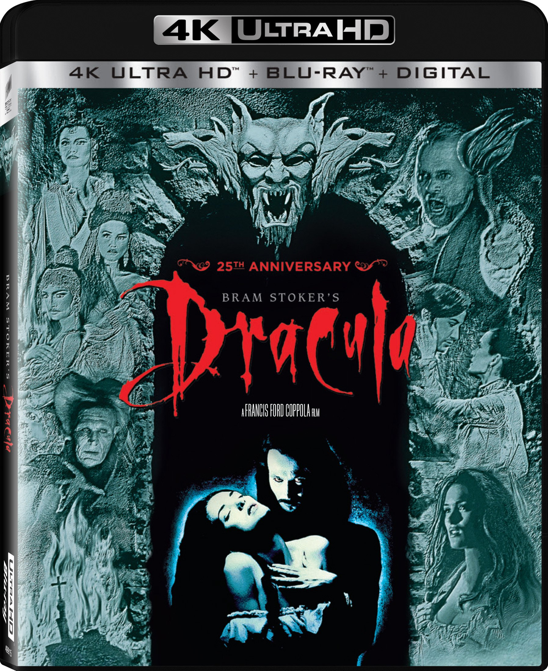 4K Blu-ray : Bram Stoker's Dracula 25Th Anniversary (With Blu-Ray, 4K Mastering, Ultraviolet Digital Copy, Anniversary Edition, Widescreen)