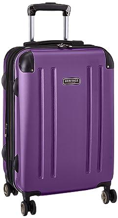 Amazon.com | Heritage O'Hare 20 Inch 8-Wheel Carry-On Luggage ...
