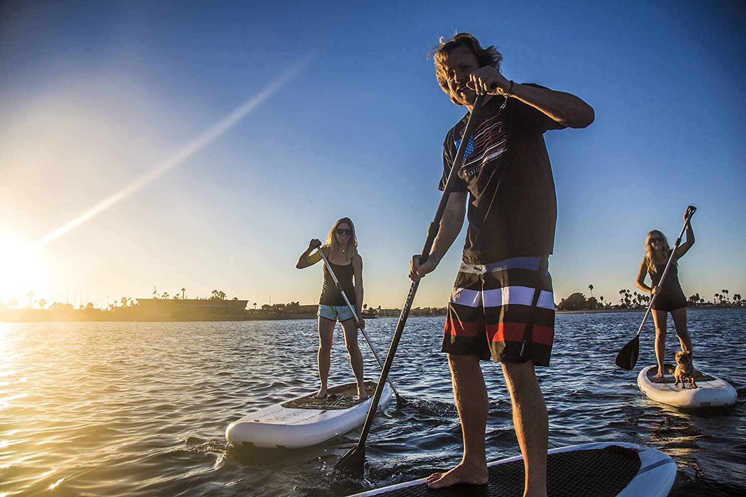 """f82c525d94 Tower Inflatable 10'4"""" Stand Up Paddle Board - (6 Inches Thick) - Universal  SUP Wide Stance - Premium SUP Bundle (Pump & Adjustable Paddle Included) ..."""