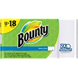 Bounty Select-A-Size Paper Towels, White, Giant Roll - 12 pk by Bounty