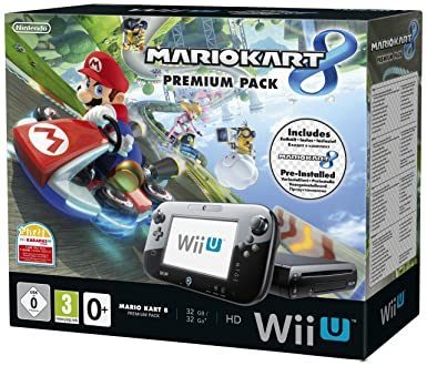 8a849b0b300 Image Unavailable. Image not available for. Colour: Nintendo Wii U 32GB Premium  Pack ...