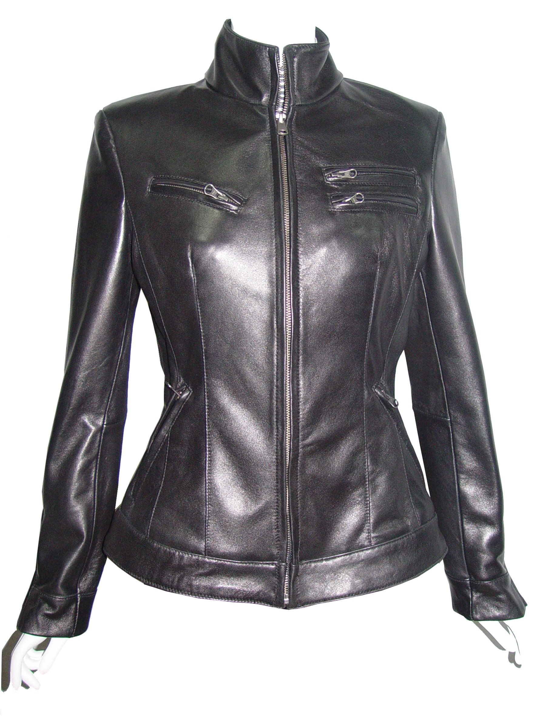 Nettailor PLUS & ALL SIZE Women Tall 4199 Soft Leather New Casual Biker Jacket