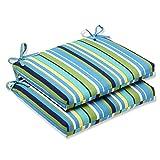 Pillow Perfect Outdoor Topanga Stripe Lagoon
