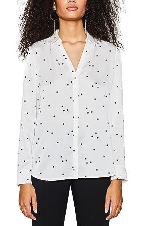 018eo1f006, Blouse Femme, Blanc (Off White 110), 42Esprit