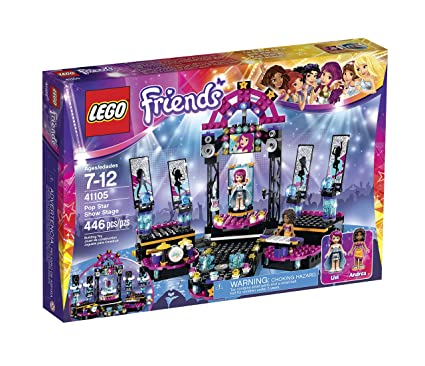 LEGO Friends 41105 Pop Star Show Stage Building Kit, Building Sets ...