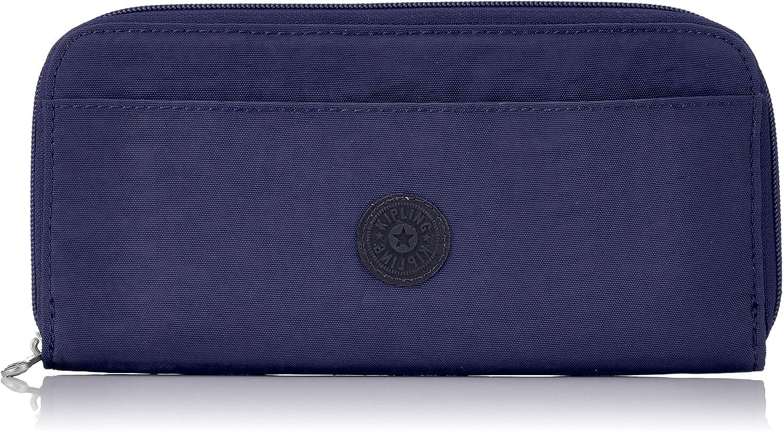 Kipling TRAVEL DOC Cartera para pasaporte, 22 cm, 0.01 liters, Azul (Active Blue)