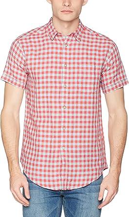 Springfield Camisa Hombre Rosa L: Amazon.es: Ropa y accesorios