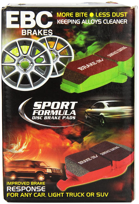 EBC Brakes DP31580C Redstuff Ceramic Low Dust Brake Pad