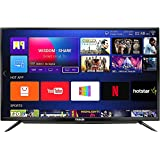 Huidi 140 cm (55 Inches) 4K Ultra HD Smart LED TV HD58D8M18 (Black) (2018 Model)
