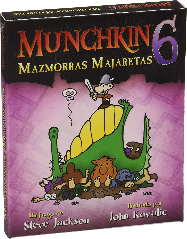 Munchkin - 6: Mazmorras Majaretas, Juego de Mesa (Edge ...