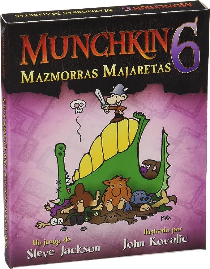 Munchkin - 6: Mazmorras Majaretas, Juego de Mesa (Edge Entertainment MU06): Jackson, Steve: Amazon.es: Juguetes y juegos