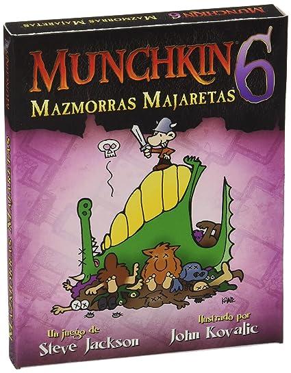 Munchkin - 6: Mazmorras Majaretas, Juego de Mesa (Edge Entertainment MU06)