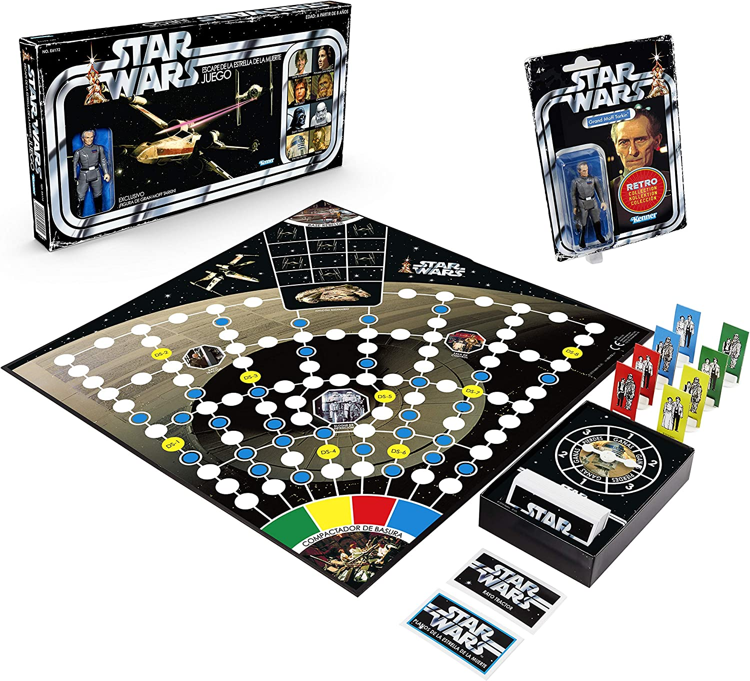 Hasbro Star Wars Retro Game-Escape de la Estrella de la Muerte ...