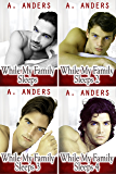 While My Family Sleeps 1-4: MMF Bisexual Threesome with MM