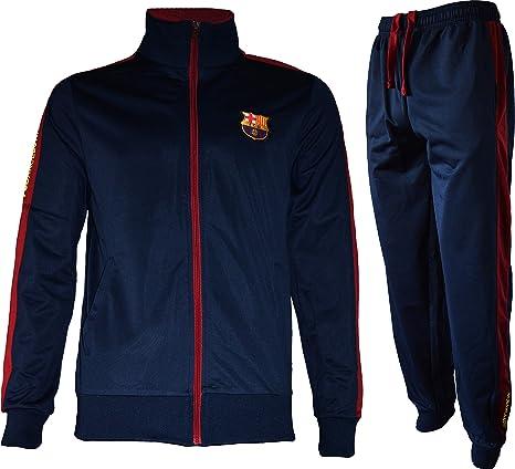 FC Barcelona - Chándal oficial para adulto, Hombre, azul marino ...