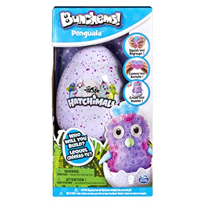 Bunchems Hatchimals Penguala Building Kit: Toys & Games