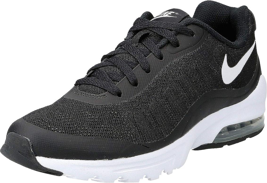 Nike Air MAX Invigor, Zapatillas de Running para Hombre, Negro (Black/White), 40.5 EU: Amazon.es: Zapatos y complementos
