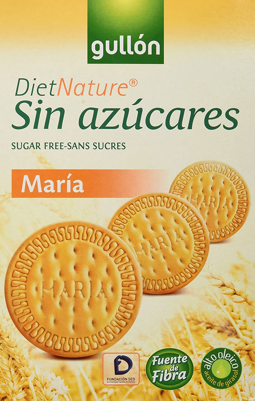 Gullón Maria Diet Nature Galleta Desayuno y Merienda sin Azúcares Añadidos - 200 gr: Amazon.es: Alimentación y bebidas