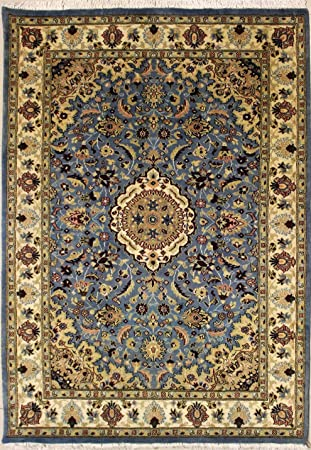 122x198 Pak Persian Design Area Rug with Wool Pile Hand-Knotted in ...