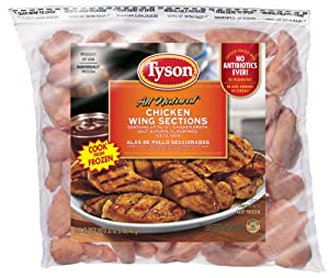 Tyson, Chicken Wings, Ready to Cook, 2 lb (Frozen)