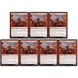 Magic: The Gathering - Seven Dwarves - Throne of Eldraine - x7 Card Lot Playset - 141/269 Common