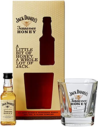 Jack Daniels Tennessee Honey Miniature and Tumbler 265461414