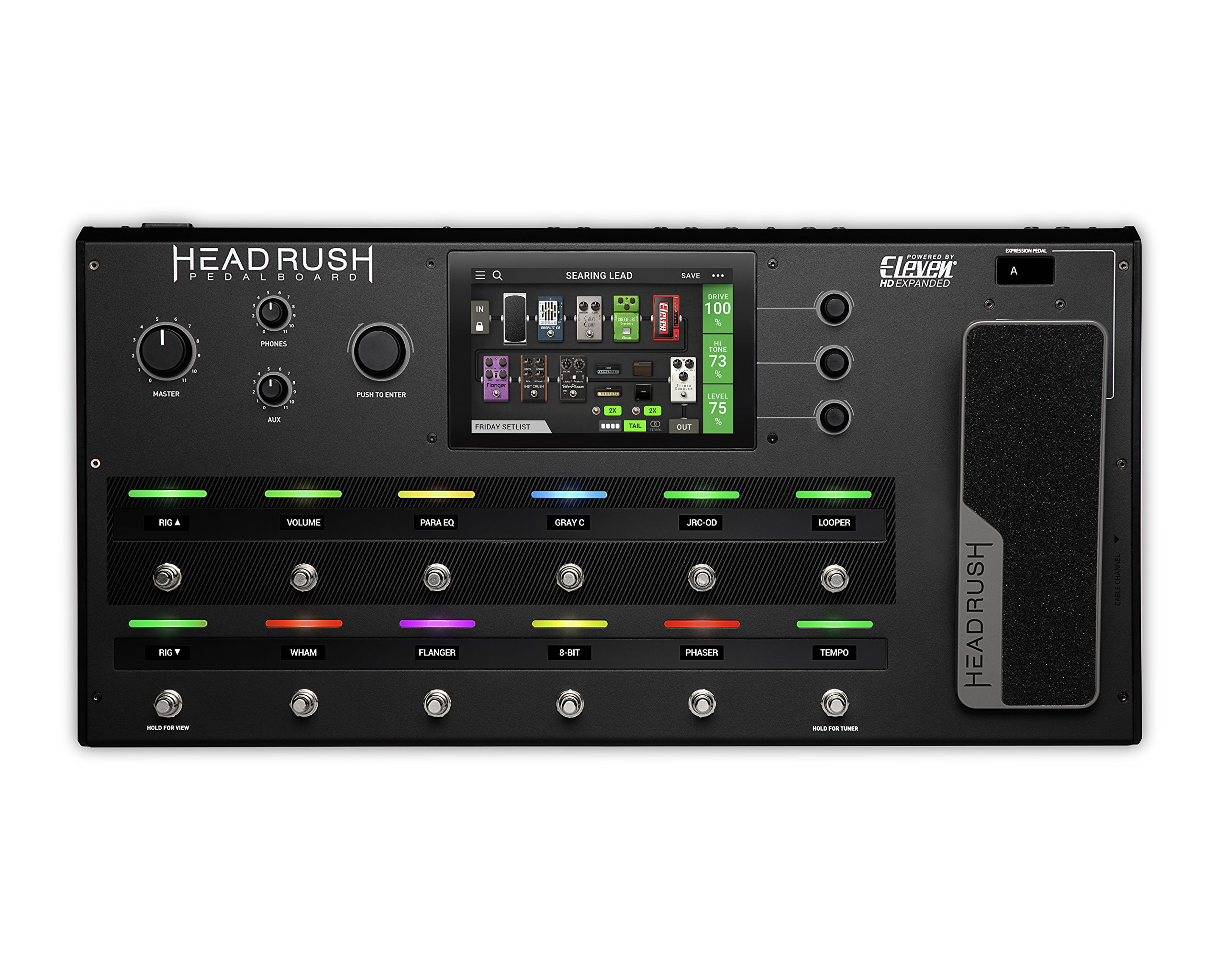 HeadRush Pedalboard | Guitar Amp and FX Modeling Processor by Head Rush (Image #2)