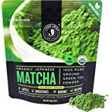 Jade Leaf Organic Matcha Green Tea Powder - Authentic Japanese Origin - Premium Second Harvest Culinary Grade (1.06 Ounce)