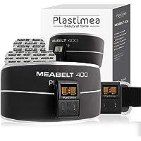 Ceinture abdominale electrostimulation : Ceinture minceur + bracelet Meabelt 400 - Technologie EMS • Perdre du ventre rapidement • 8 programmes, 10 intensités - Tonifier, Gainer & Muscler • Plastimea