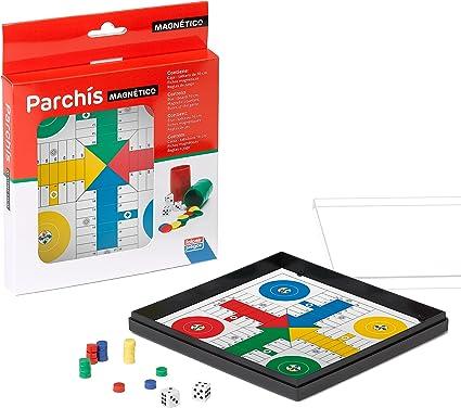 Falomir Parchís Magnético, Juego de Mesa, Clásicos, 16 x 16 cm (27902): Amazon.es: Juguetes y juegos