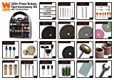WEN 230321A 320-Piece Rotary Tool Accessory Kit