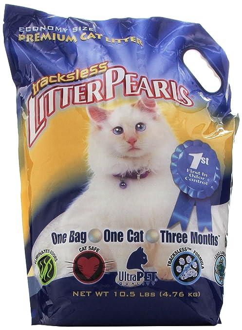 Tracksless Litter Pearls Cat Litter 10 5 Lb