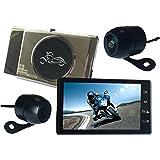バイク用 ドライブレコーダー オートバイ用 ドラレコ 前後カメラ 防水 高画質 1080PフルHD Gセンサー 衝撃録画 常時録画 WDR機能 DV188 より良い 日本語説明書