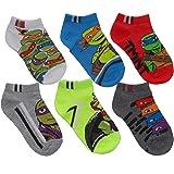 Teenage Mutant Ninja Turtles Little Boys Assorted No Show Socks - 6 pk