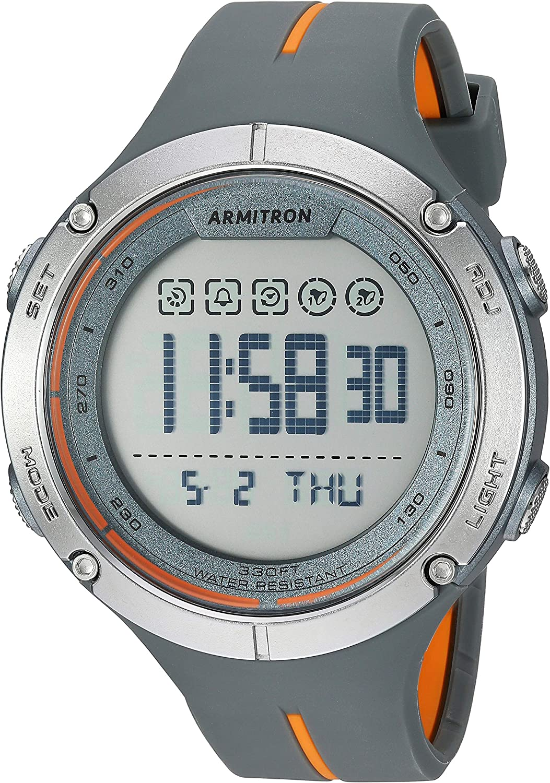 Armitron Sport Men s Digital Chronograph Resin Strap Watch