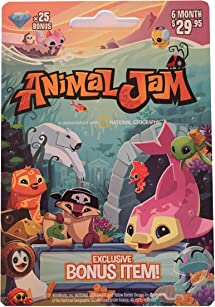 National Geographic Animal Jam Online Game     - Amazon com