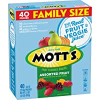 Assorted Fruit Gluten Free Snacks, Family Size