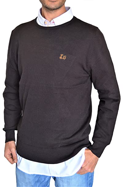 Ridebike Jersey de Cuello Redondo Vespa | Color Café | 100% algodón | Custom fit